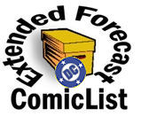 ComicList DC Extended Forecast