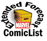 MARVEL COMICS Extended Forecast
