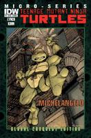 Teenage Mutant Ninja Turtles Micro-Series #2 (Michelangelo)(David Petersen Global Conquest Edition Cover)