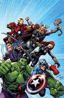 Avengers Assemble #1 (Mark Bagley 2nd Printing Variant Cover)