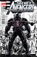 Secret Avengers #23 (Arthur Adams 2nd Printing Variant Cover)