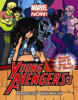 Young Avengers Postcard (Promotional Item)