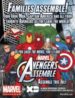 Marvel Universe Avengers Assemble FCBD Postcard (Promotional Item)