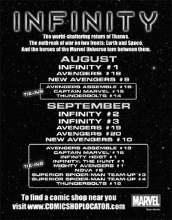 Infinity Event Postcard (Promotional Item)
