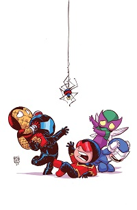 Superior Foes Of Spider-Man #1 (Skottie Young Variant Cover)