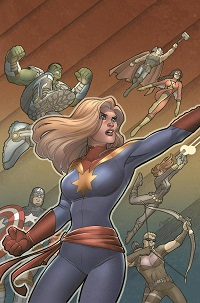 Avengers Assemble #17 (Amanda Connor Variant Cover)