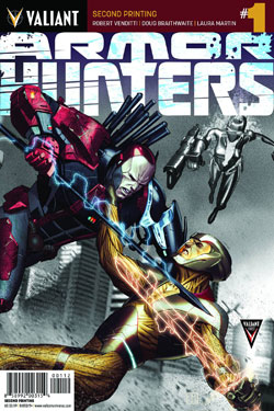 Armor Hunters #1 (Of 4)(Jorge Molina 2nd Printing Variant Cover)