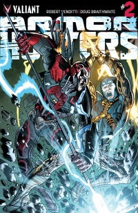 Armor Hunters #2 (Of 4)(Bryan Hitch Artist Variant Cover)