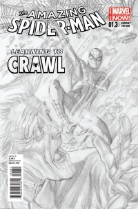 Amazing Spider-Man #1.3 (Alex Ross Sketch Variant Cover)