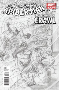 Amazing Spider-Man #1.4 (Alex Ross Sketch Variant Cover)