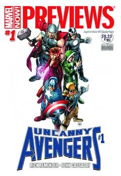 Marvel Previews #110 (October 2012 For Products On-Sale December 2012)