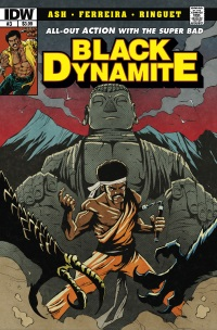 Black Dynamite #3 (Of 4)(Cover A David Crosland)