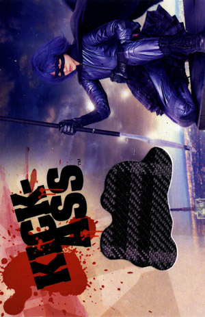 Kick-Ass Costume Authentic Limited Edition Card With Hit-Girl Costume Material (Dynamic Forces)