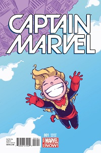 Captain Marvel #1 (Skottie Young Variant Cover)