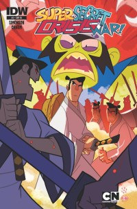 Cartoon Network Super Secret Crisis War #3 (Of 6)(Cover RI Sean Galloway)