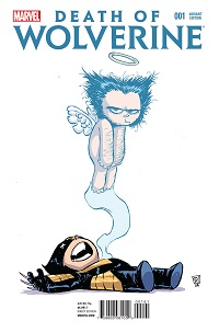 Death Of Wolverine #1 (Of 4)(Skottie Young Variant Cover)