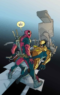 Death Of Wolverine #1 (Of 4)(Pasqual Ferry Deadpool Memorial Variant Cover)