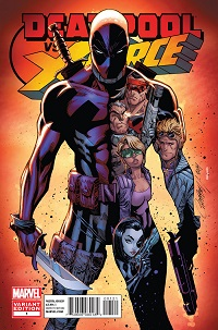 Deadpool Vs X-Force #1 (Of 4)(J. Scott Campbell Variant Cover)