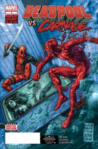 Deadpool Vs Carnage #2 (Of 4)(Glenn Fabry 2nd Printing Variant Cover)