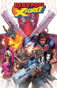 Deadpool Vs X-Force #1 (Of 4)(Shane Davis Regular Cover)