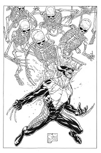 Death Of Wolverine #1 (Of 4)(Joe Quesada Sketch Variant Cover)