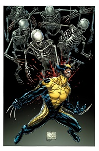 Death Of Wolverine #1 (Of 4)(Joe Quesada Variant Cover)