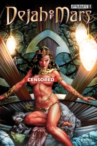 Dejah Of Mars #1 (Of 4)(Jay Anacleto Risque Variant Cover)