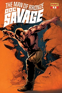 Doc Savage #1 (Stephen Segovia Retailer Shared Variant Cover)
