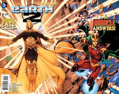 Earth 2 #11 (Brett Booth & Norm Rapmund Regular Fold-Out Cover)