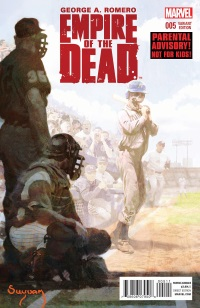 George Romero's Empire Of The Dead Act One #5 (Of 5)(Alex Maleev NYC Variant Cover)