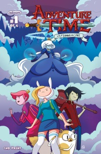 Adventure Time With Fionna And Cake #1 (Of 6)(Stephanie Gonzaga 2nd Printing Variant Cover)