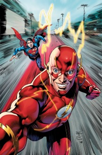 Flash #34 (Eddy Barrows & Eber Ferreira DC Universe Selfie Variant Cover)