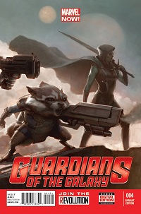 Guardians Of The Galaxy #4 (Movie Variant Cover)