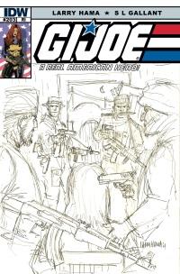 G.I. JOE A Real American Hero #203 (Cover RI Larry Hama)