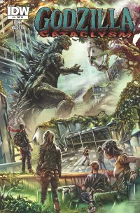 Godzilla Cataclysm #1 (Of 5)(Cover RI Mehdi Cheggour)