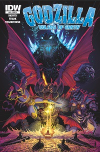 Godzilla Rulers Of Earth #12 (Cover RI Jeff Zornow)
