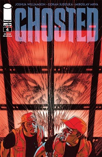 Ghosted #4 (2nd Printing Variant Cover)