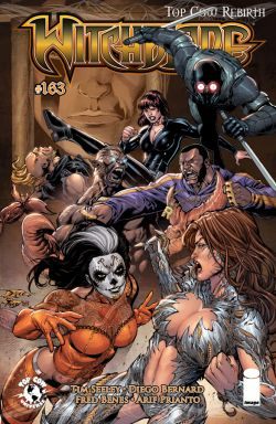 Witchblade #163 (Cover B Diego Bernard & Fred Benes)