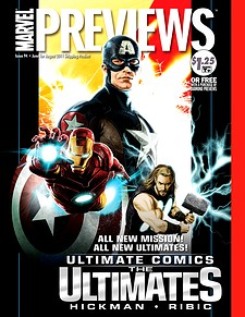 Marvel Previews #96 (August 2011 For Products On-Sale October 2011)