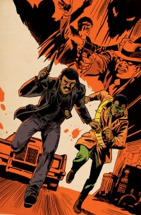Mighty Avengers #10 (Francesco Francavilla Teaser Variant Cover)