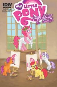 My Little Pony Friendship Is Magic #22 (Cover RI Alison Blackwell)