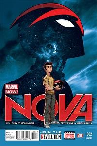 Nova #2 (Ed McGuinness 2nd Printing Variant Cover)