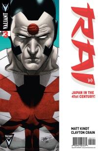 Rai #3 (Cafu Variant Cover)