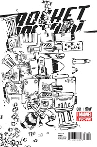 Rocket Raccoon #1 (Skottie Young Sketch Variant Cover)