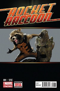 Rocket Raccoon #1 (Movie Variant Cover)