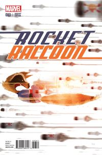 Rocket Raccoon #3 (Pascal Campion Artist Variant Cover)