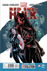 Red She-Hulk #58 (Carlo Pagulayan 2nd Printing Variant Cover Cover)