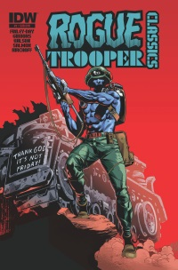 Rogue Trooper Classics #2 (Of 12)(Cover SUB Staz Johnson)