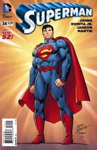 Superman #34 (John Romita Jr. & Klaus Janson Variant Cover)