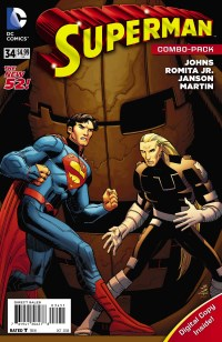 Superman #34 (John Romita Jr. & Klaus Janson Combo Pack Cover)